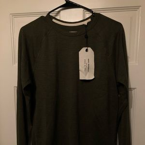 Rag & Bone longlseeve shirt (small)